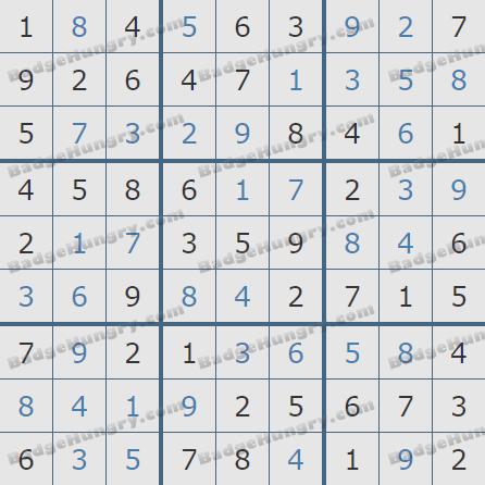 Pogo Daily Sudoku Solutions: April 12, 2020