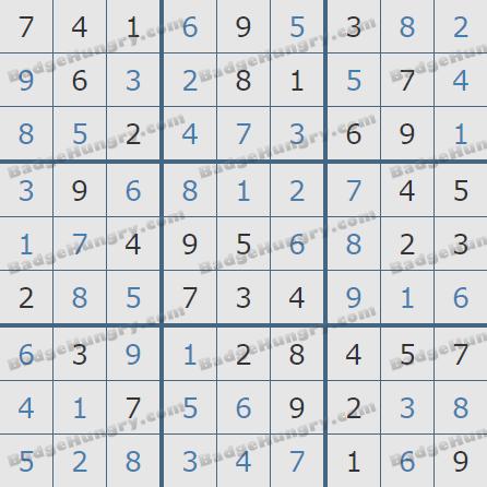 Pogo Daily Sudoku Solutions: April 13, 2020