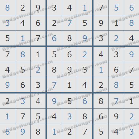 Pogo Daily Sudoku Solutions: April 18, 2020