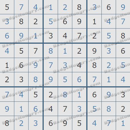 Pogo Daily Sudoku Solutions: April 19, 2020