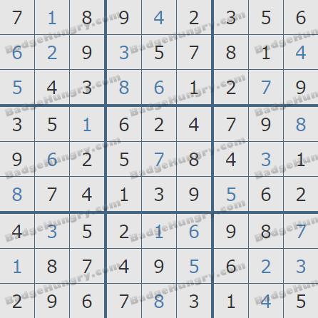 Pogo Daily Sudoku Solutions: April 20, 2020