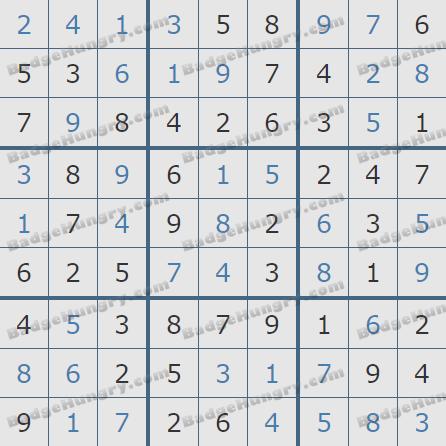 Pogo Daily Sudoku Solutions: April 23, 2020