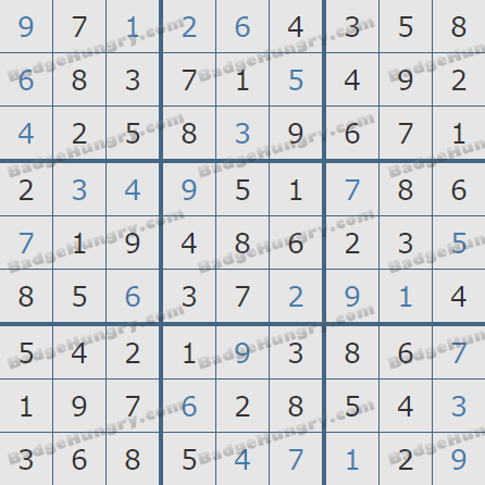 Pogo Daily Sudoku Solutions: April 25, 2020