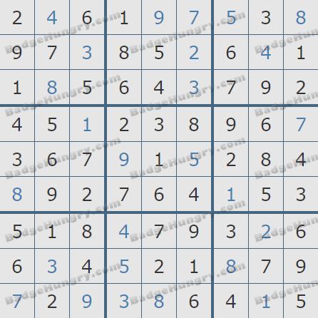 Pogo Daily Sudoku Solutions: April 26, 2020