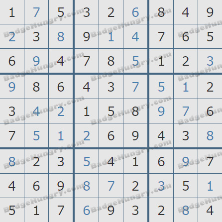 Pogo Daily Sudoku Solutions: April 27, 2020