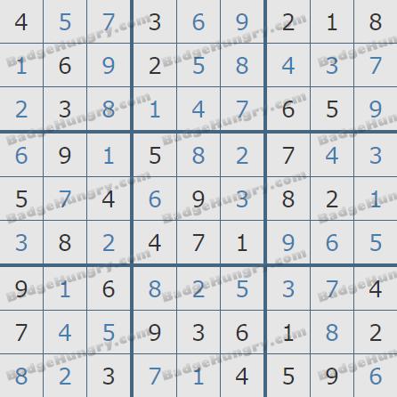 Pogo Daily Sudoku Solutions: April 28, 2020