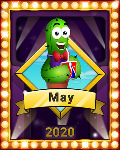 May 2020 Game of the Month Poppit! HD Badge