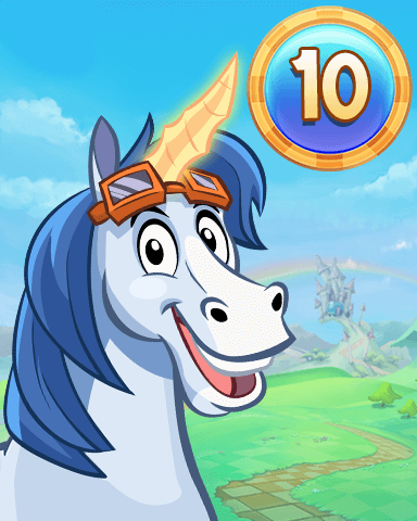 Peggle Blast HD Rank Badge