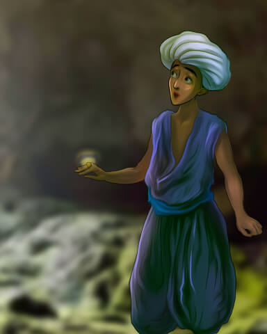 StoryQuest - Aladdin Episode 1 Badge