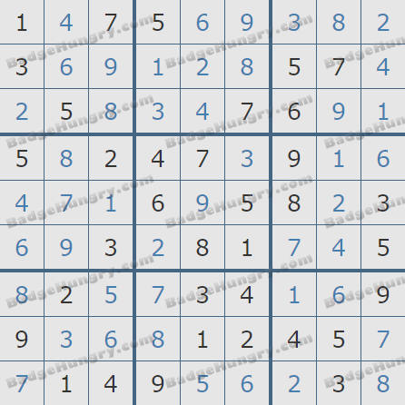 Pogo Daily Sudoku Solutions: May 1, 2020