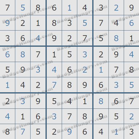 Pogo Daily Sudoku Solutions: May 2, 2020