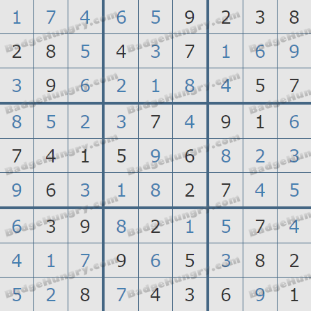 Pogo Daily Sudoku Solutions: May 4, 2020
