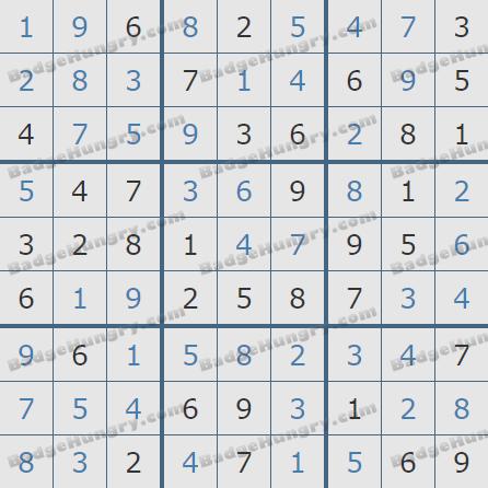 Pogo Daily Sudoku Solutions: May 5, 2020