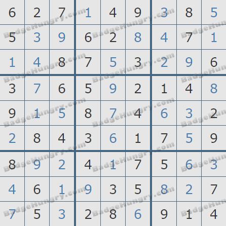 Pogo Daily Sudoku Solutions: May 8, 2020