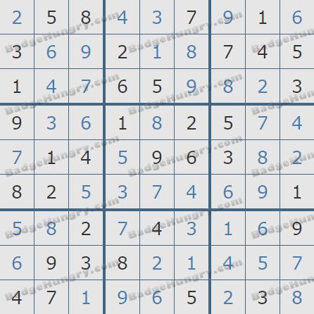 Pogo Daily Sudoku Solutions: May 10, 2020