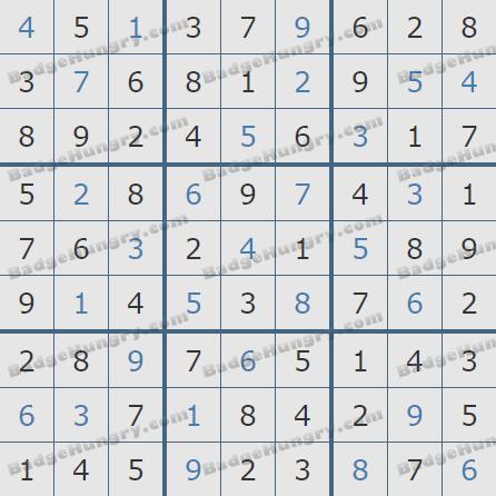 Pogo Daily Sudoku Solutions: May 12, 2020
