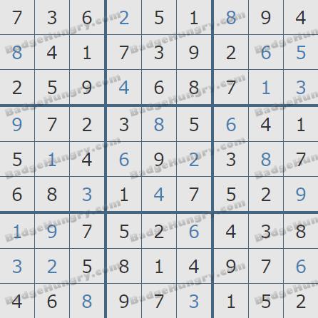 Pogo Daily Sudoku Solutions: May 14, 2020