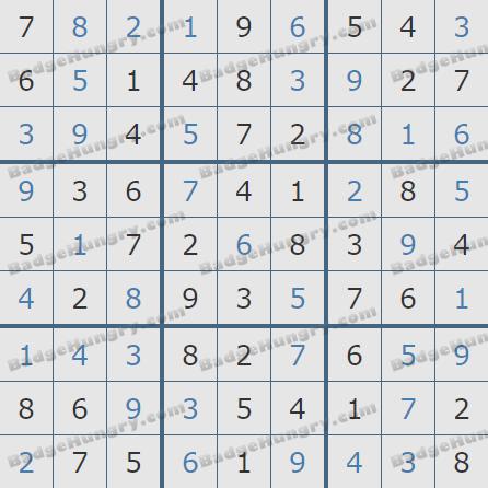Pogo Daily Sudoku Solutions: May 17, 2020