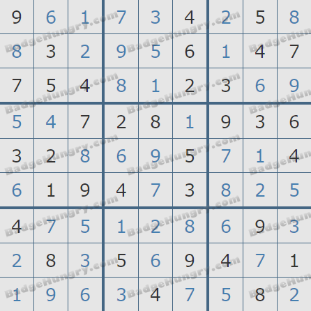 Pogo Daily Sudoku Solutions: May 18, 2020