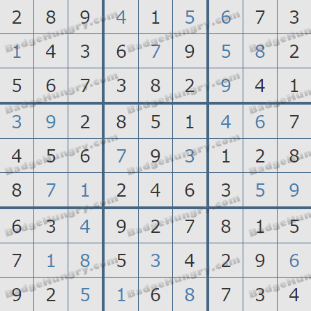 Pogo Daily Sudoku Solutions: May 19, 2020
