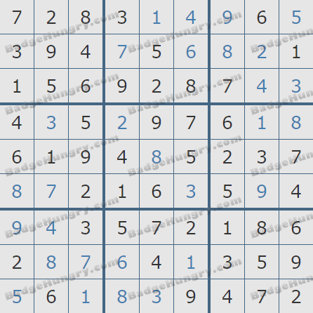 Pogo Daily Sudoku Solutions: May 20, 2020