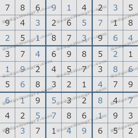 Pogo Daily Sudoku Solutions: May 23, 2020