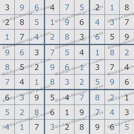 Pogo Daily Sudoku Solutions: May 26, 2020