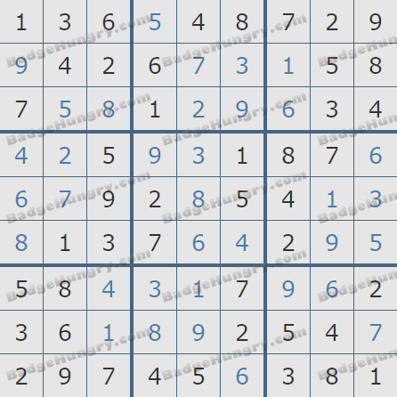 Pogo Daily Sudoku Solutions: May 30, 2020