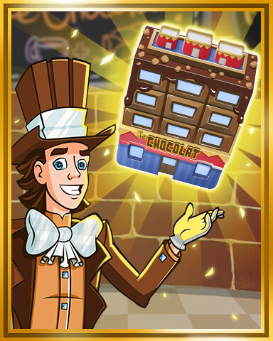 Sweet Tooth Town - Chocolate Shop to Tier 4 Badge