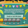 Snowbird Solitaire: Tropical Tea Party Event