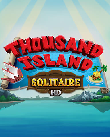 Thousand Island Solitaire HD Mix-n-Match Badge