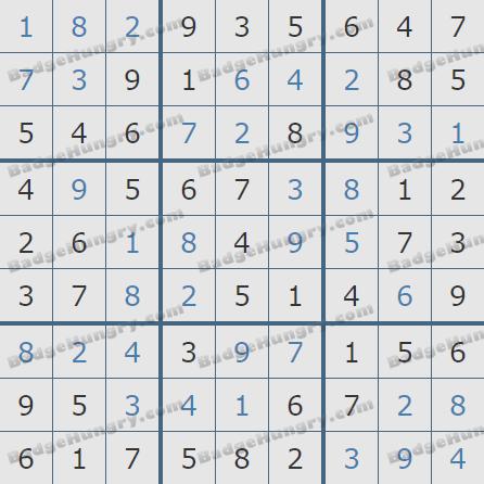 Pogo Daily Sudoku Solutions: June 5, 2020