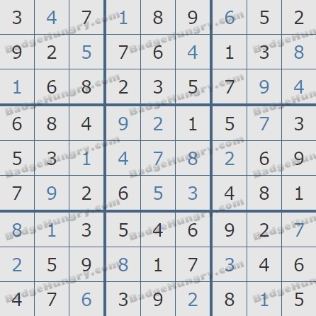 Pogo Daily Sudoku Solutions: June 6, 2020