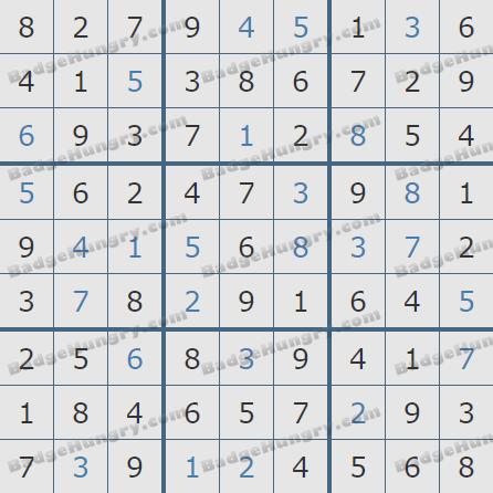 Pogo Daily Sudoku Solutions: June 10, 2020