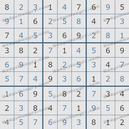 Pogo Daily Sudoku Solutions: June 12, 2020