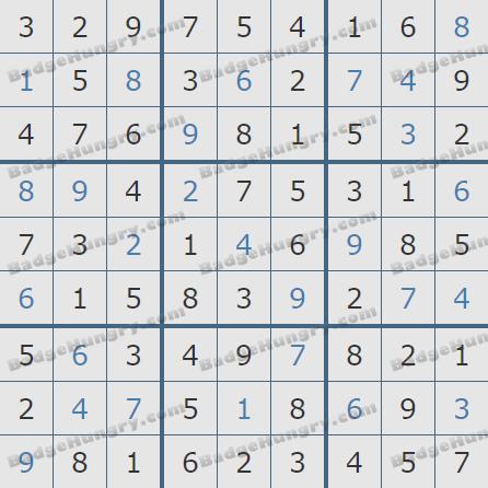 Pogo Daily Sudoku Solutions: June 14, 2020