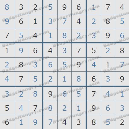 Pogo Daily Sudoku Solutions: June 16, 2020