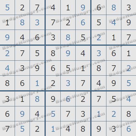Pogo Daily Sudoku Solutions: June 17, 2020