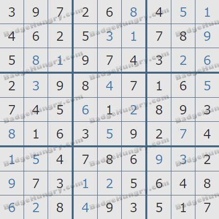 Pogo Daily Sudoku Solutions: June 18, 2020