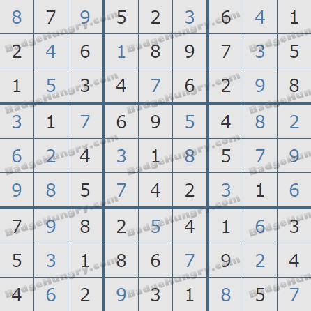 Pogo Daily Sudoku Solutions: June 19, 2020