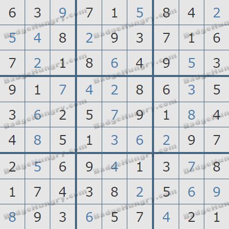 Pogo Daily Sudoku Solutions: June 23, 2020