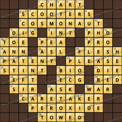 Crossword Cove HD Solution: June 29, 2020