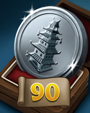 Thousand Island Solitaire HD Rank Badge