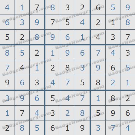 Pogo Daily Sudoku Solutions: July 1, 2020