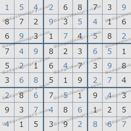 Pogo Daily Sudoku Solutions: July 5, 2020