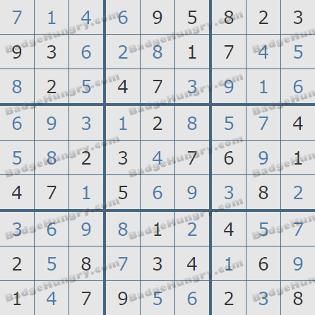 Pogo Daily Sudoku Solutions: July 6, 2020