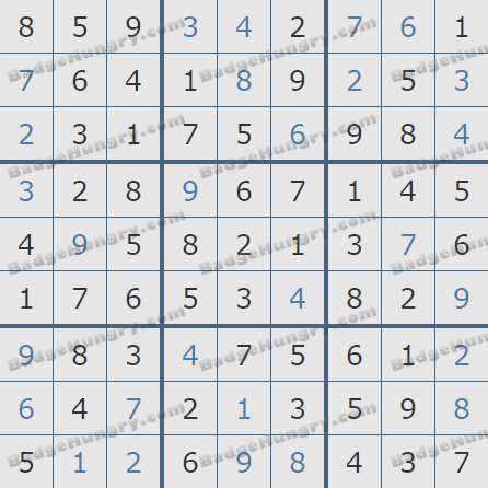 Pogo Daily Sudoku Solutions: July 8, 2020