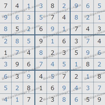 Pogo Daily Sudoku Solutions: July 9, 2020