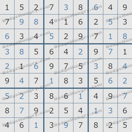 Pogo Daily Sudoku Solutions: July 11, 2020