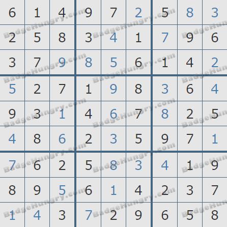 Pogo Daily Sudoku Solutions: July 12, 2020